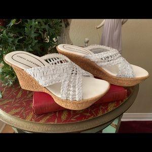 Athena Alexander wedge shoe